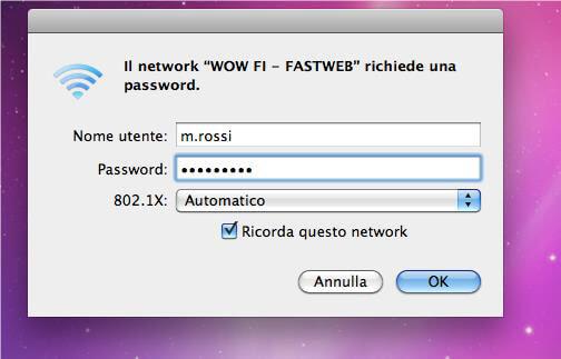 WOW FI | Fastweb