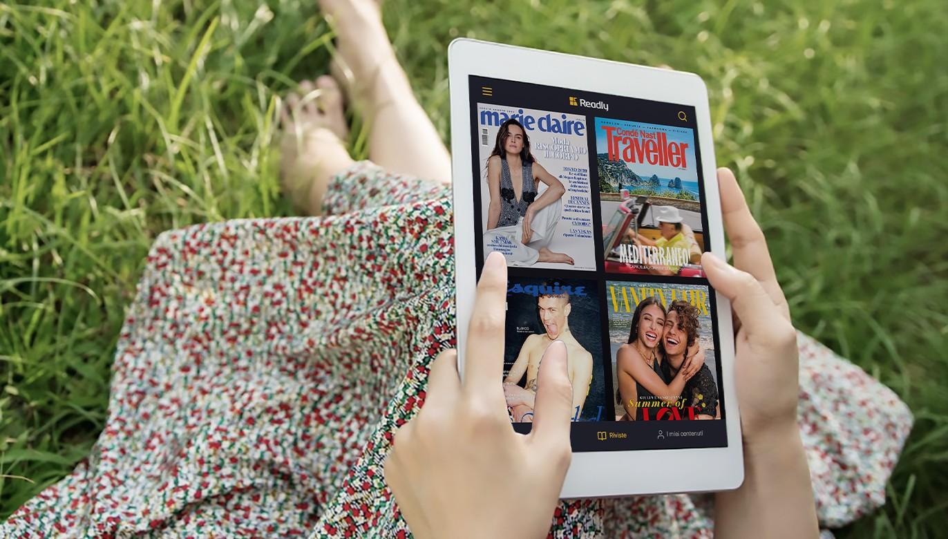 Tutte le riviste in un'app? FastwebUP ti premia con Readly