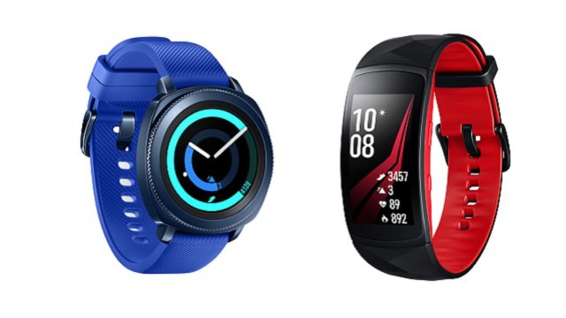 Samsung: ufficiali Gear Sport, Gear Fit2 Pro e Gear Icon X 2018