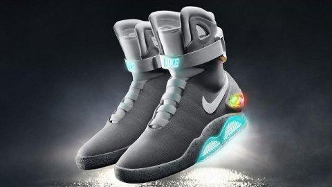 La scarpa che si allaccia da sola è realtà: Nike HyperAdapt