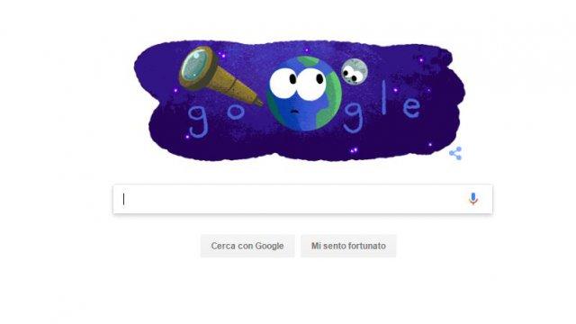 Doodle di Google, oggi dedicato alla Scoperta Nasa degli Esopianeti
