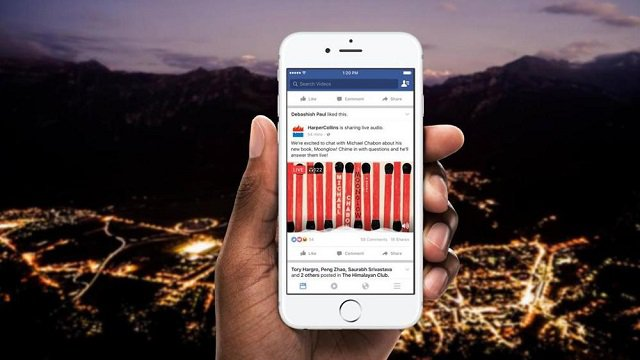 Facebook colora i suoi post e realizza i live audio
