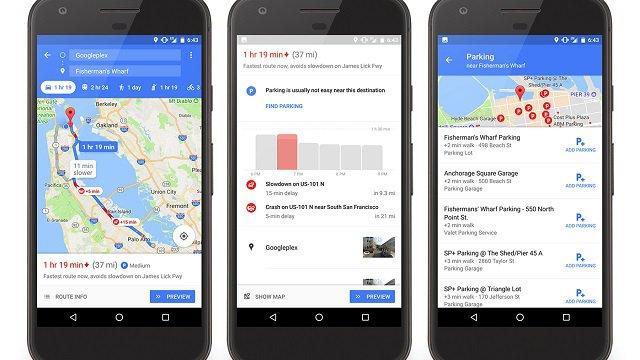 Google Maps: attiva in Italia opzione trova parcheggio, a Roma e Milano