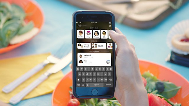 Snapchat, arriva la ricerca universale