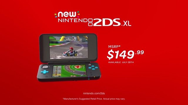 Nintendo annuncia il New Nintendo 2DS XL
